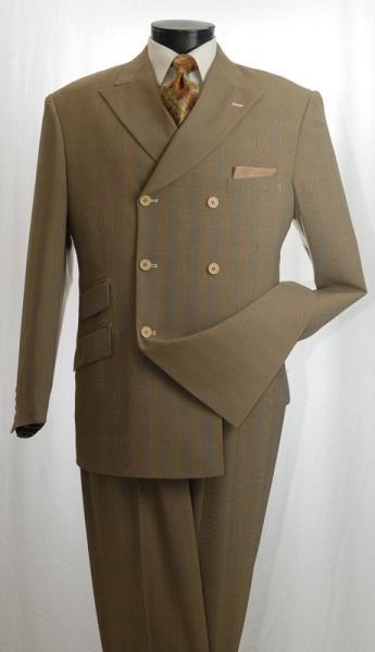 taupeplaidDB suit