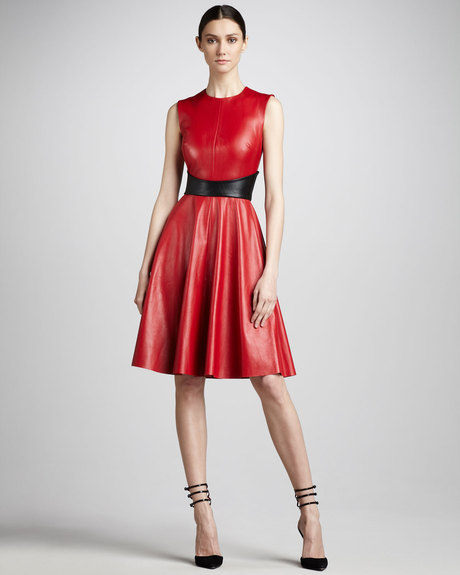 monique-lhuillier-red-swingy-leather-dress-product-1-4229807-736262258_large_flex