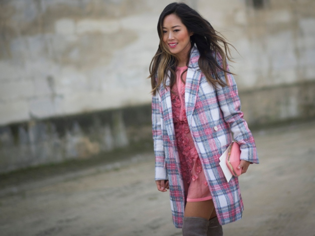 Street Style - Day 7 : Paris Fashion Week - Womenswear Fall/Winter 2014-2015