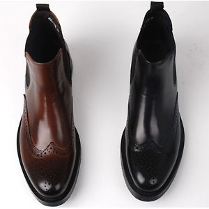 leather brogue wingtip