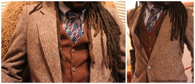 vintage mens sportscoat wool clothing